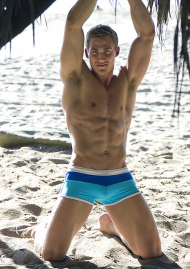 Your Hunk of the Day: Christopher Richard