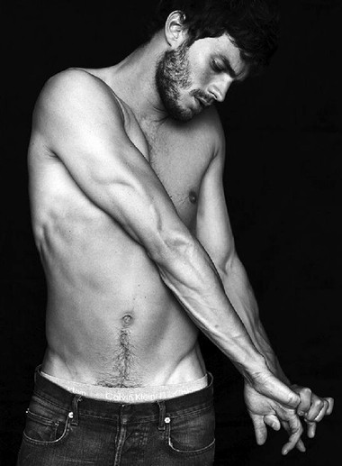 Your Hunk of the Day: Jamie Dornan