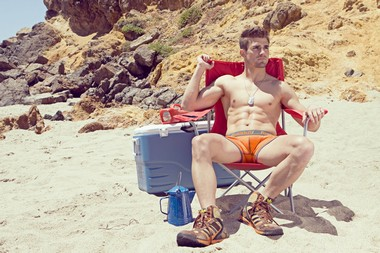 Your Hunk of the Day: Tim Baird